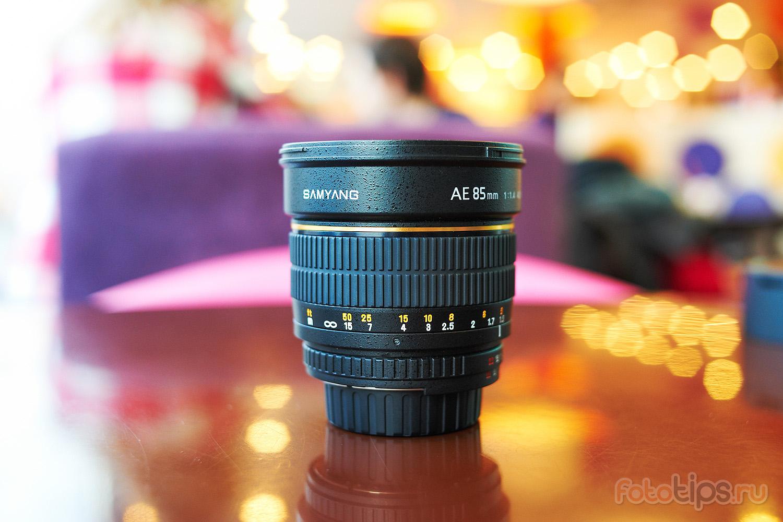 боке Samyang 85mm f/1.4