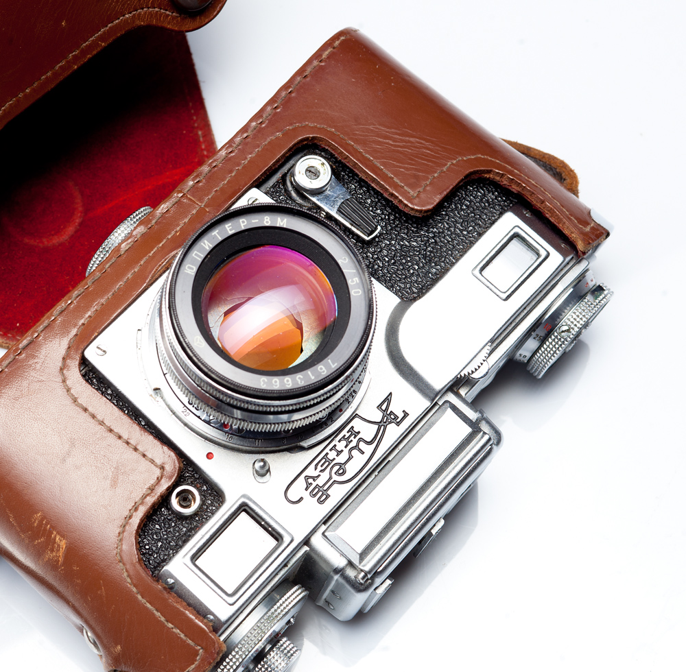 фотокамера Киев-4 и объектив Юпитер-8М