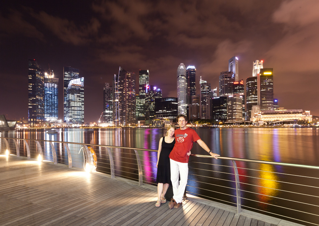я в Сингапуре