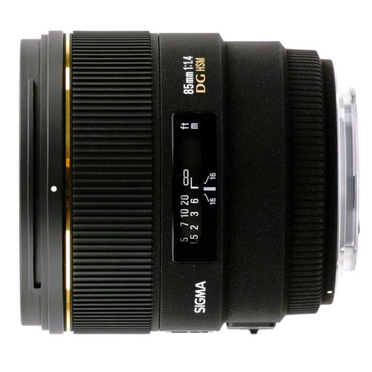 SIGMA AF 85 f/1.4 EX DG HSM для Canon