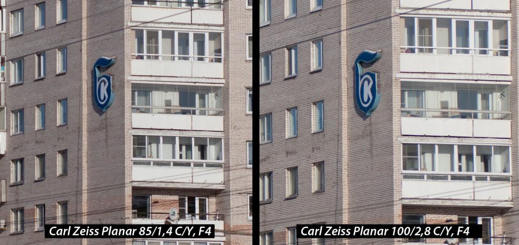 Тестирование 85мм и 100мм объективов (Carl Zeiss и Юпитер-9)