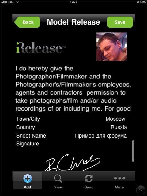 Ipad 2 для фотографа