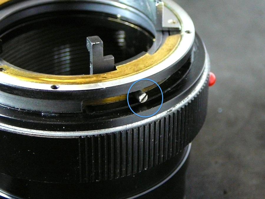разобрать  Leica R Macro Makro Elmarit 2.8/60