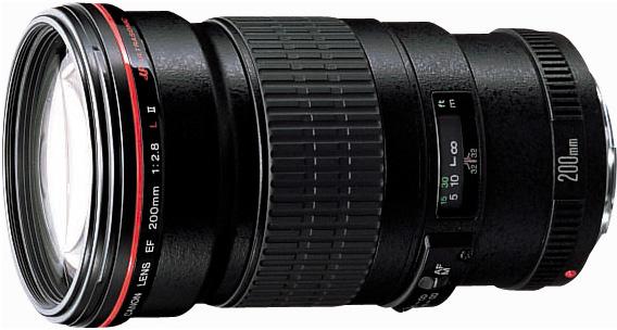 Canon EF 200 f/2.8L II USM