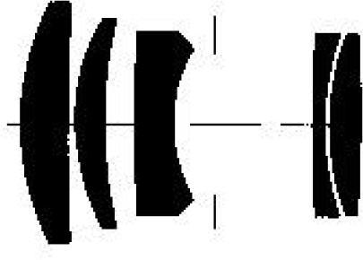 оптическая схема Carl Zeiss Sonnar 85/2.8