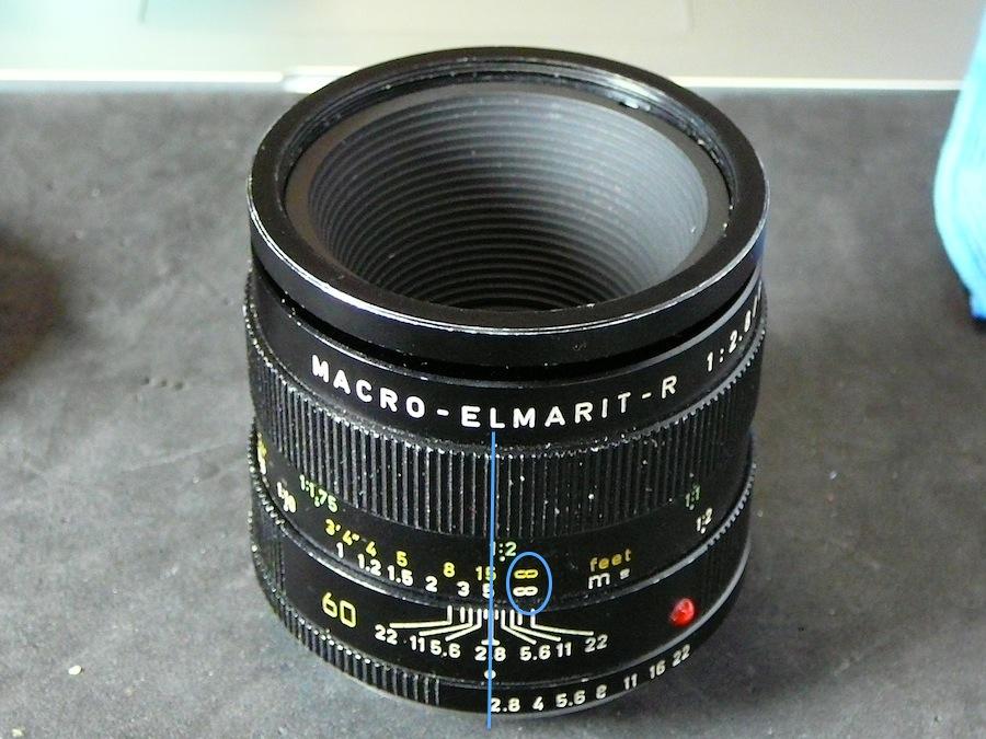 Leica Macro-Elmarit 60/2.8: сбита бесконечность и макро