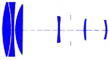 Carl Zeiss Tele-tessar 200 mm f/ 3.5