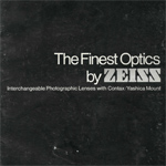 Каталог объективов Carl Zeiss (октябрь 1975г.)