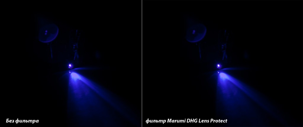 Тест UV-фильтров на отсечение УФ-спектра