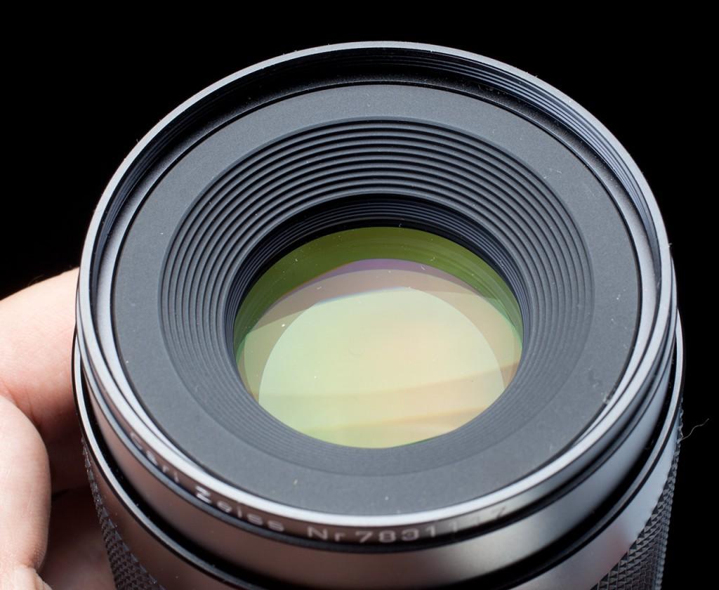 просветление Carl Zeiss Makro-Planar 100/2.8 C/Y
