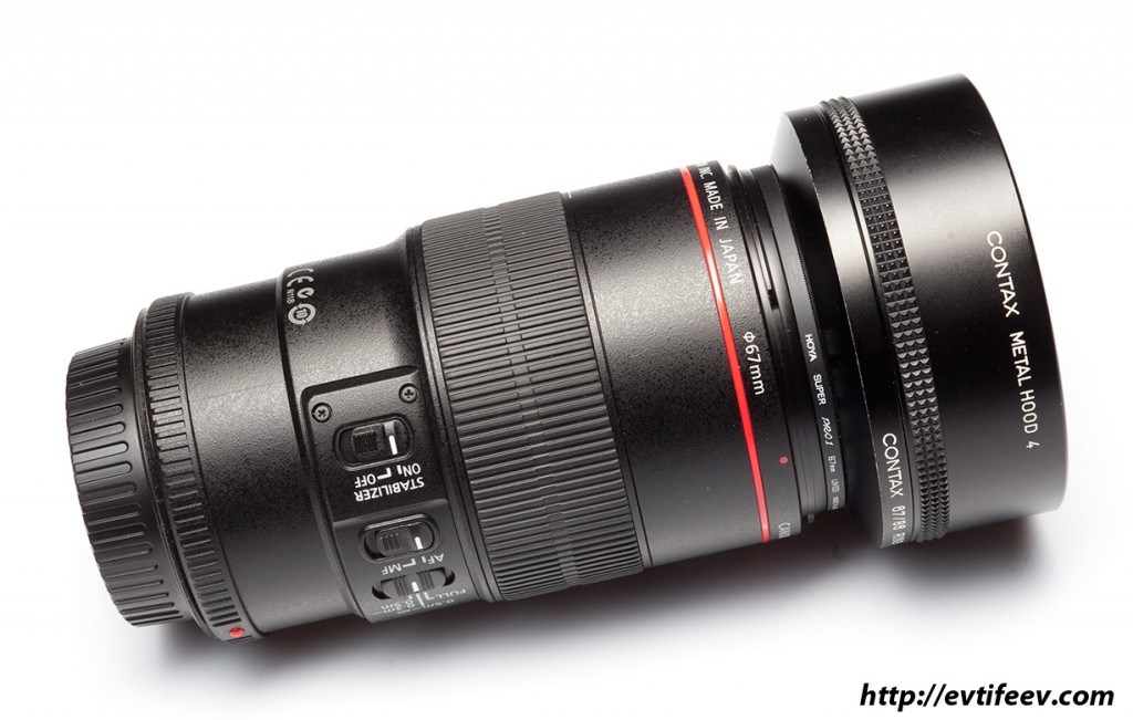 бленда Carl Zeiss 4 на Canon EF 100/2.8L IS USM Macro