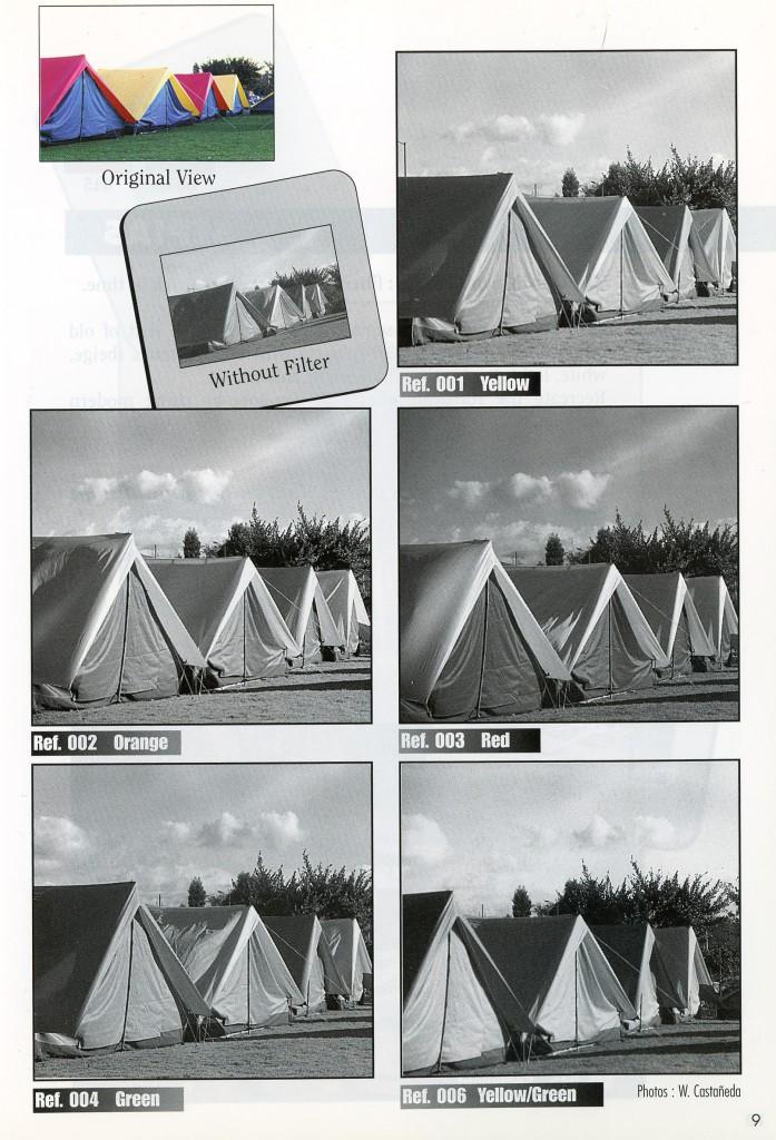 цветные фильтры Cokin для черно-белой фотографии