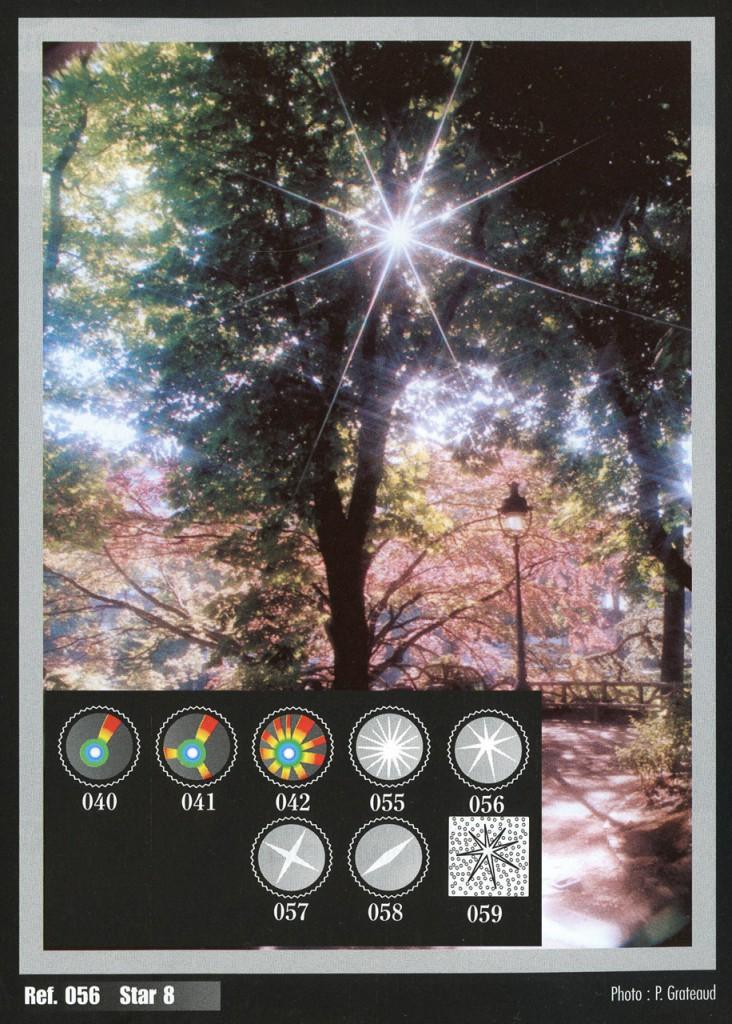 """фильтры Cokin создающие """"звёздочки"""" на снимках"""