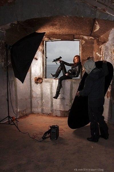 портретная фотосъемка, девушка, мастеркласс