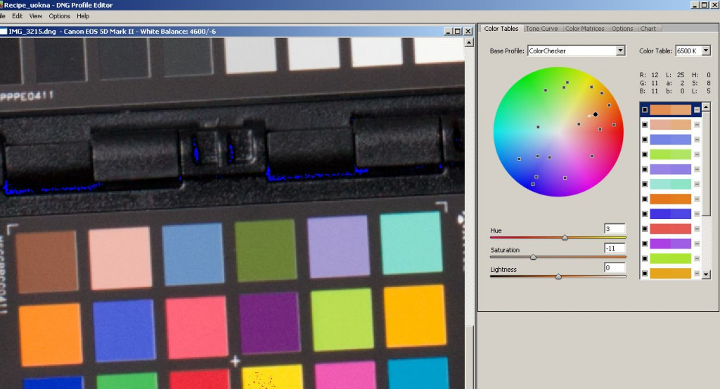 Xrite Colorchecker в CaptureOne Pro