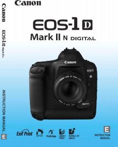 Инструкция на русском для Canon 1D mark II N