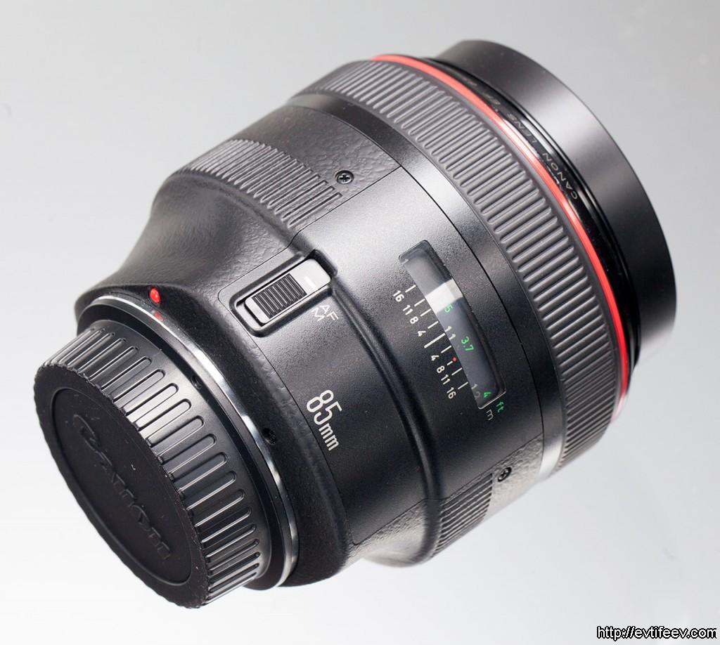 Обзор объектива Canon EF 85mm f/1.2L USM