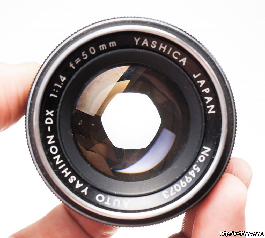Обзор Yashica yashinon DX 50/1.4 и сравнение c Carl Zeiss Planar 50/1.7 AEJ и MMJ