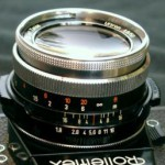 carl zeiss ultron 50/1.8 with a concave front element