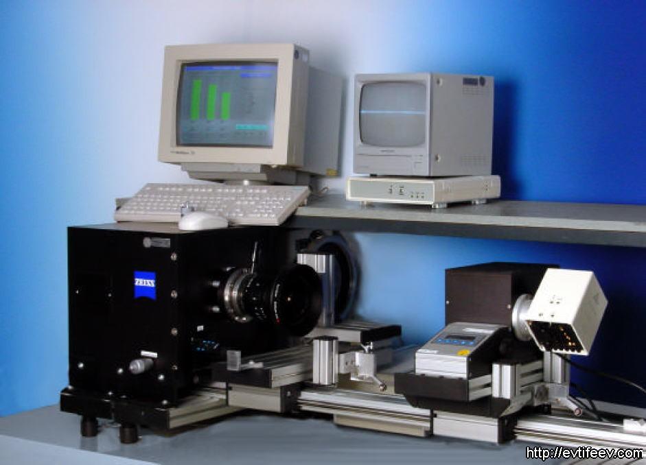 тестовый стенд K9 MTF tester (Carl Zeiss)