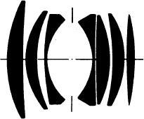 оптическая схема Carl Zeiss Planar 50/1.4