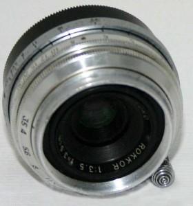 Minolta Rokkor 35mm f3.5