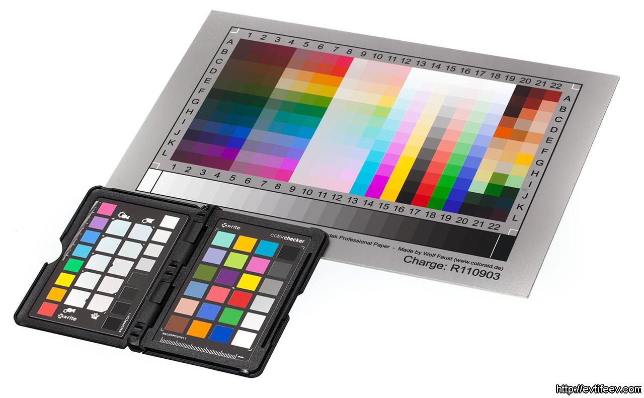 Цветопередача в фотографии