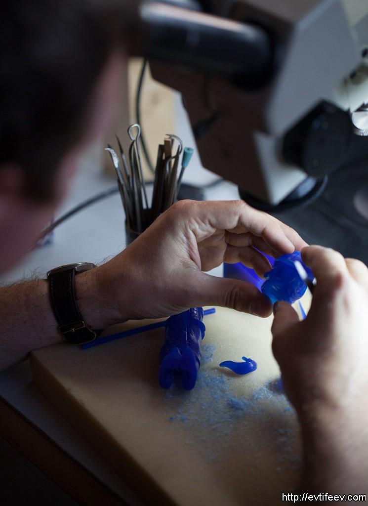 фотосъемка ювелирных изделий, предметная фотосъемка, фотосъемка процесса изготовления ювелирных изделий