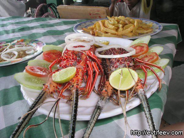 Лобстеры, Индонезия