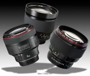 Премиум: Статья Марко Кавина (перевод с итальянского) «Carl Zeiss Planar 85mm f/1.2 vs Canon FD 85mm f/1.2L vs Canon EF 85mm f/1.2L Mk II»