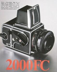 Hasselblad 2000FC