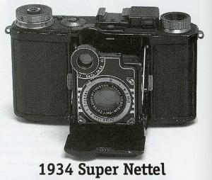 фотоаппарат «Super Nettel»