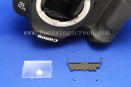 Замена фокусировочного экрана на Canon 5D mark III