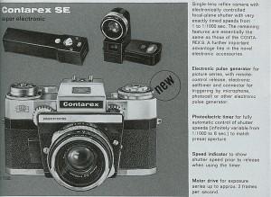 Contarex S electronic (Contarex SE)