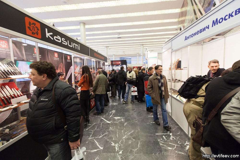 Оружейная выставка «Арсенал» 28 ноября — 1 декабря 2013г.