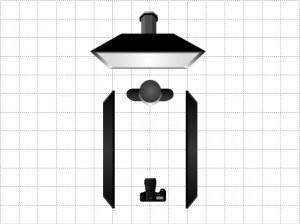 Съемка ню - схемы освещения