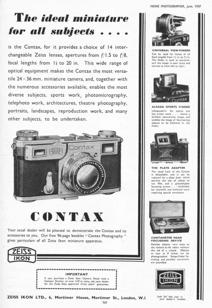 contax II & accessoires1_3500px