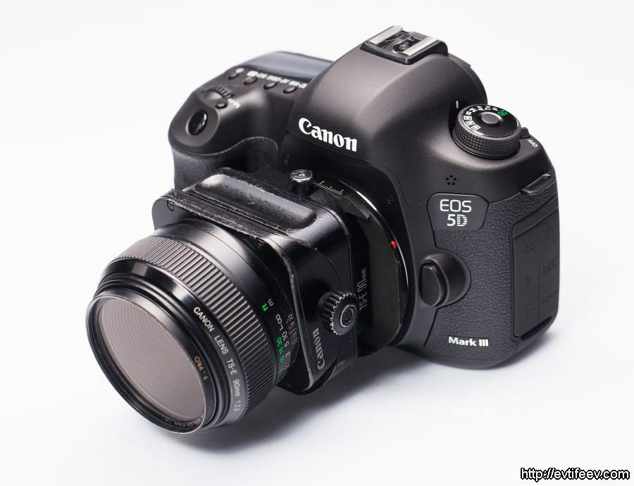 Tilt/Shift объективы, а также обзор и впечатления от пользования объективом Canon TS-E 90/2.8