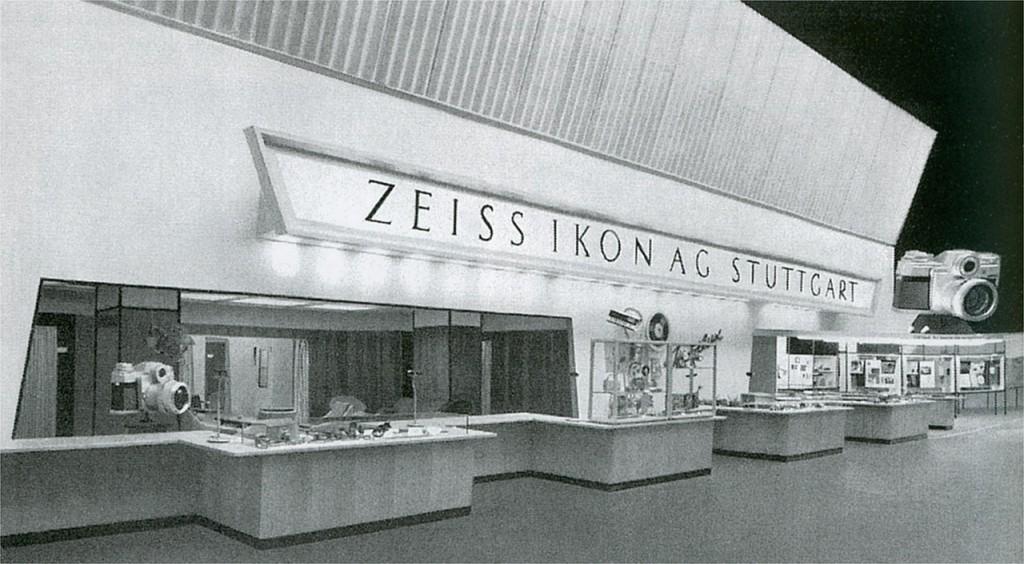 Фото старой фототехники: камеры Zeiss Ikon Contaflex, Zeiss Ikon Nettar