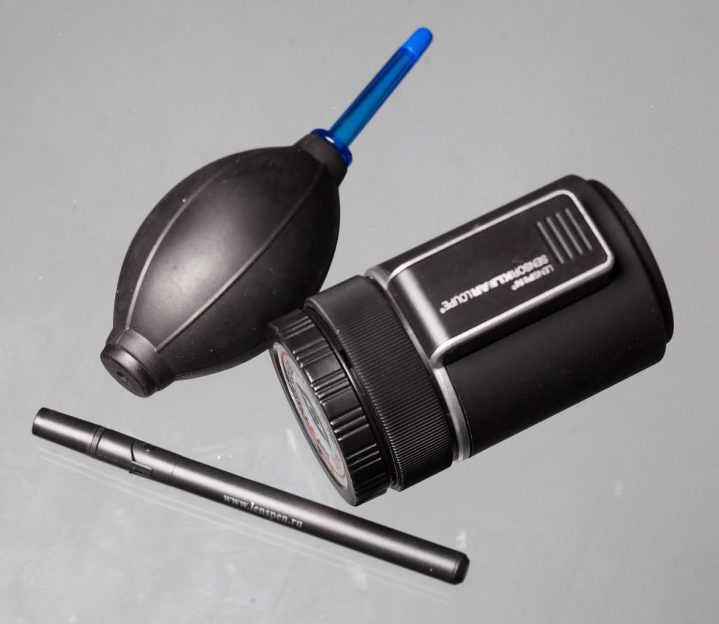 Чистка сенсора фотокамеры