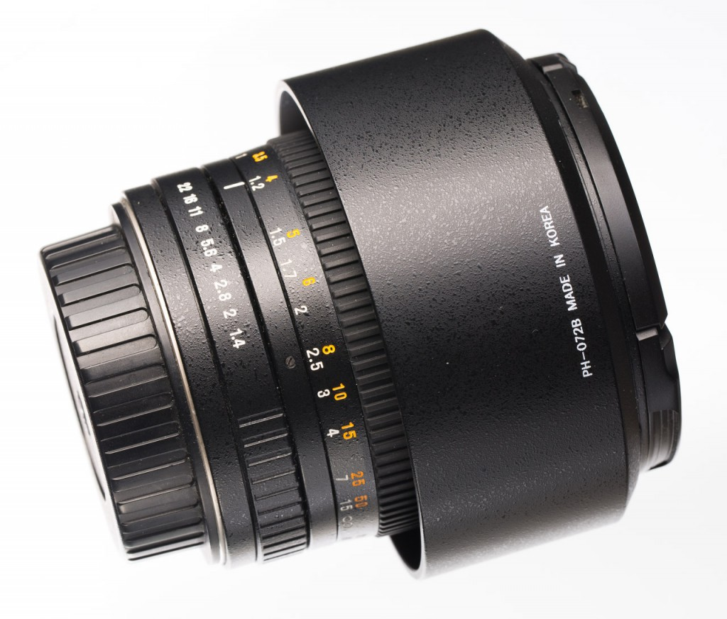 Обзор объектива Samyang 85/1.4 с байонетом Canon