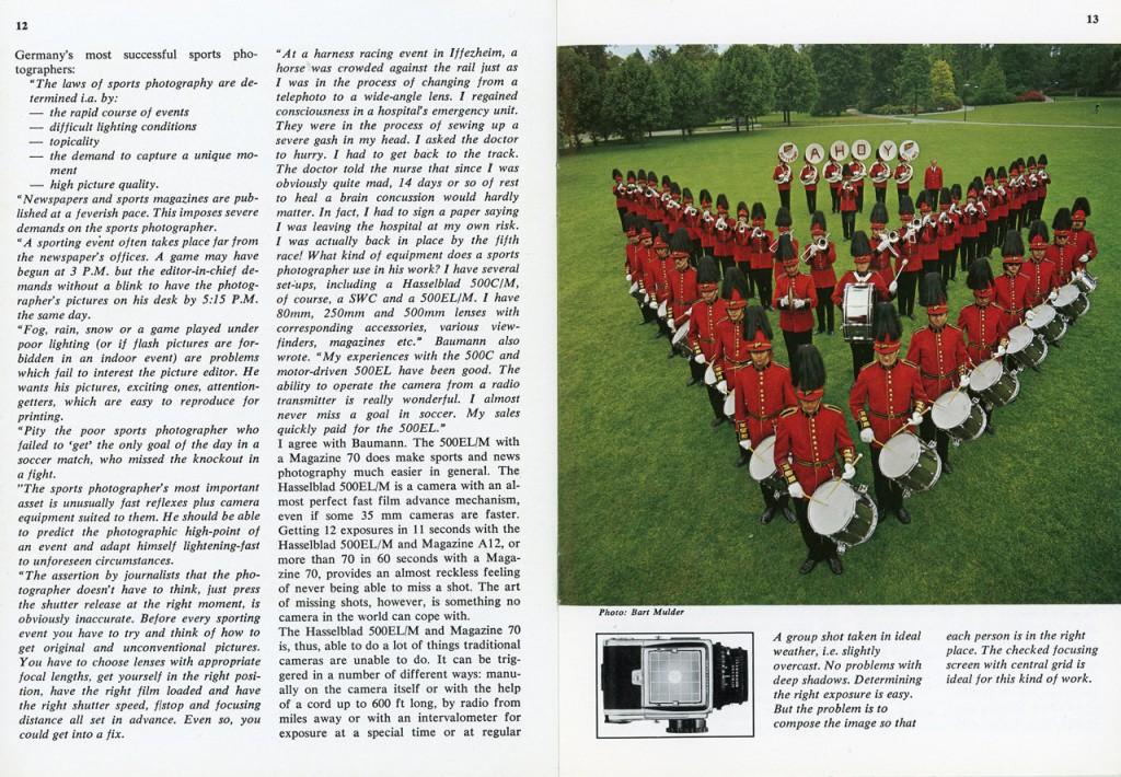 Фирменная брошюра Hasselblad: Press Photo