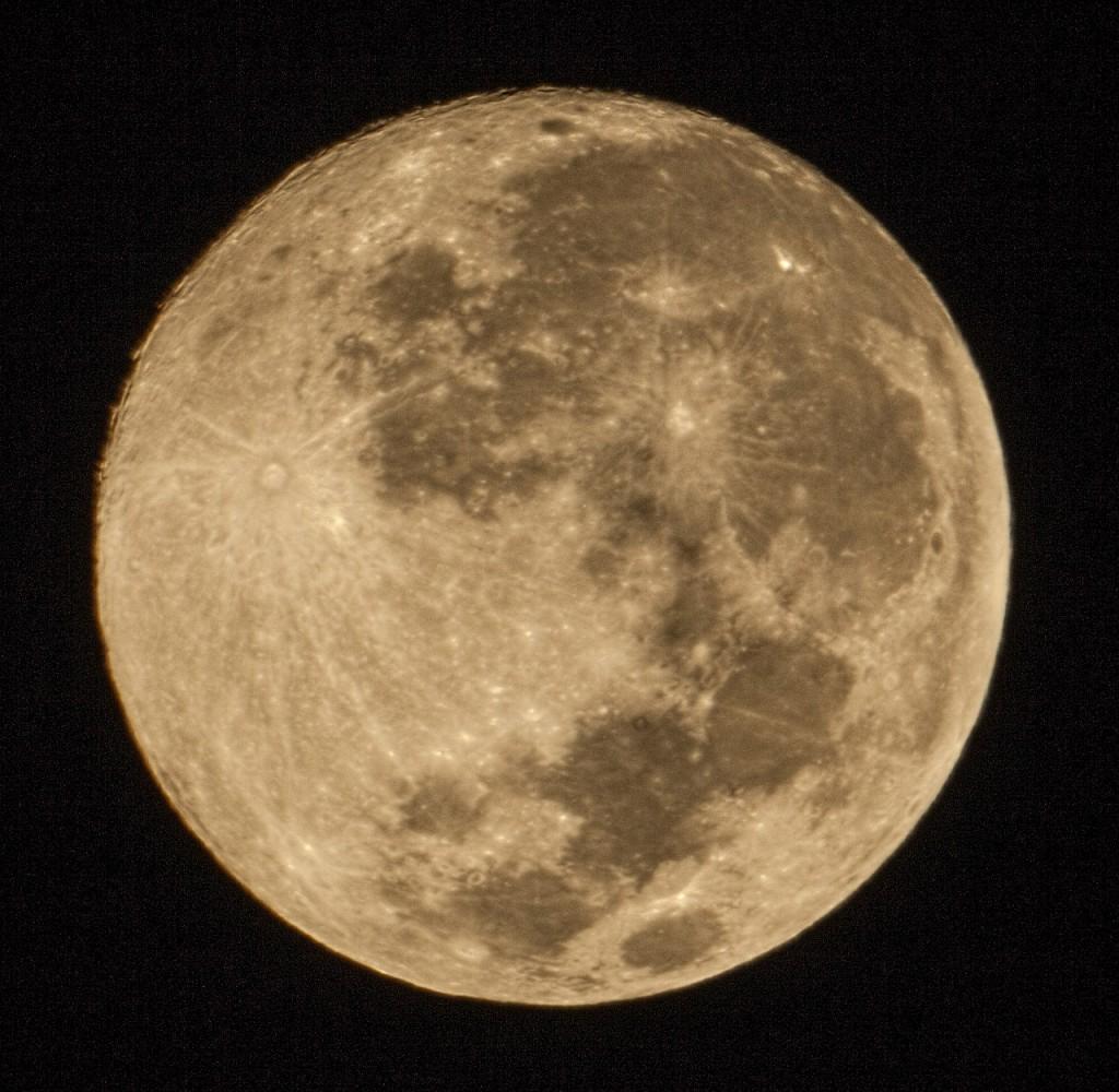 Обещанная Луна с объектива МТО-1000А 1100/10.5