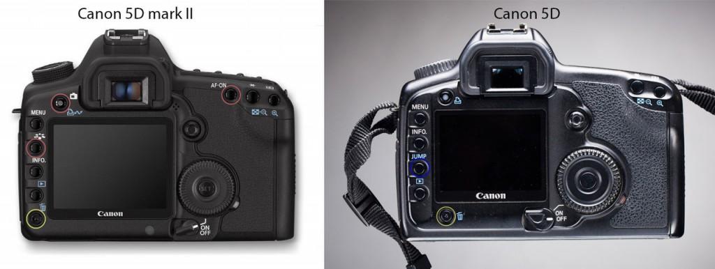 Canon 5D mark II vs Canon 5D
