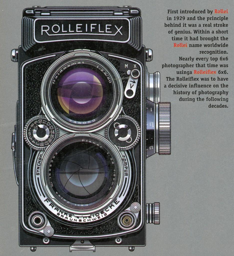 Обзор камеры Yashica MAT LM и краткая история компании Yashica