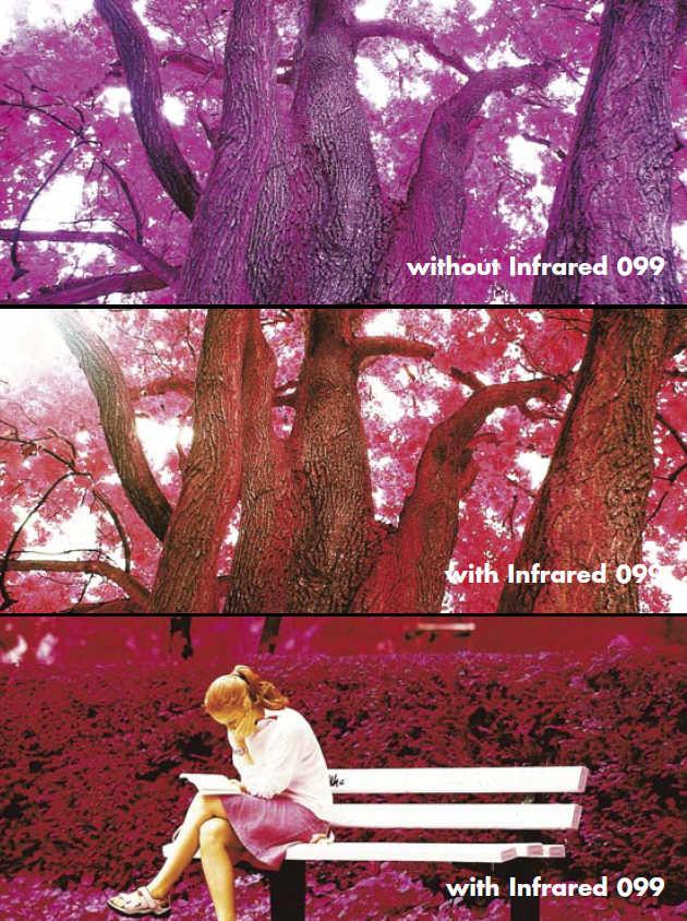 светофильтры для инфракрасной фотосъемки