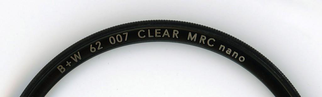 защитный фильтр B+W Clear (007M)