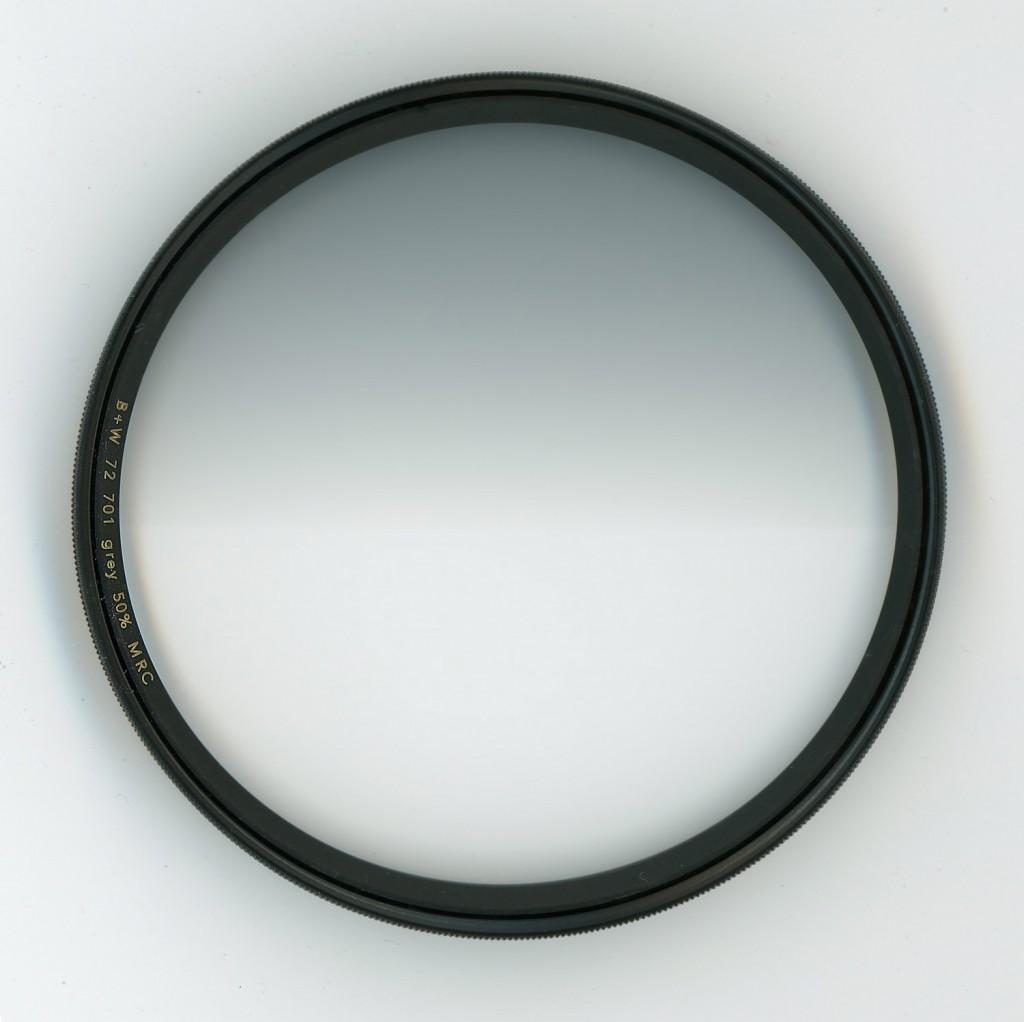 B+W 701 Graduated ND Filter 50 %