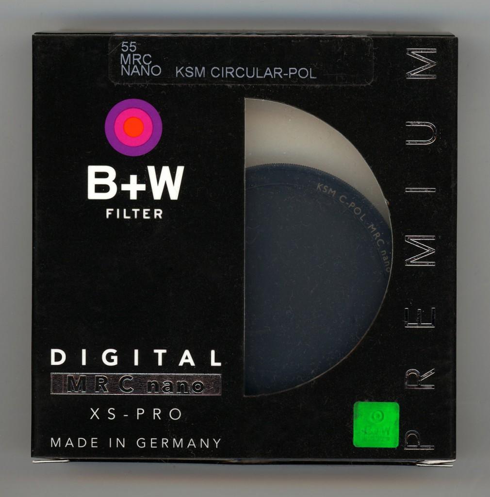 B+W XS-Pro AUCM Polarizing filter Käsemann circular MRC