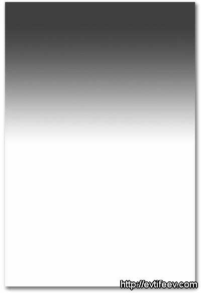 B+W 702 MRC Graduated ND Filter as a 100 x 150 x 2